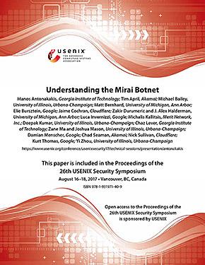 USENIXが発表した報告書