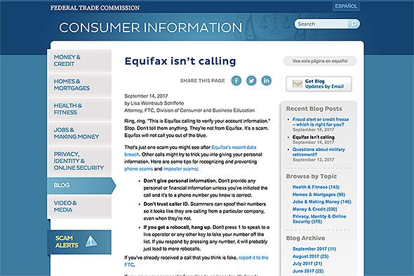 FTCは電話などによる詐欺に注意を呼びかけ