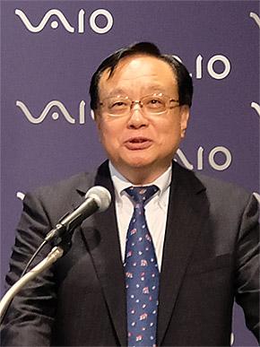 VAIO 代表取締役 吉田秀俊氏