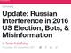 Twitter、米大統領選でのロシアからの干渉やbot対策について説明 Facebookに続き