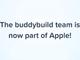 Apple、モバイルアプリ開発ツールのBuddybuildを買収 Android版は2月末で終了