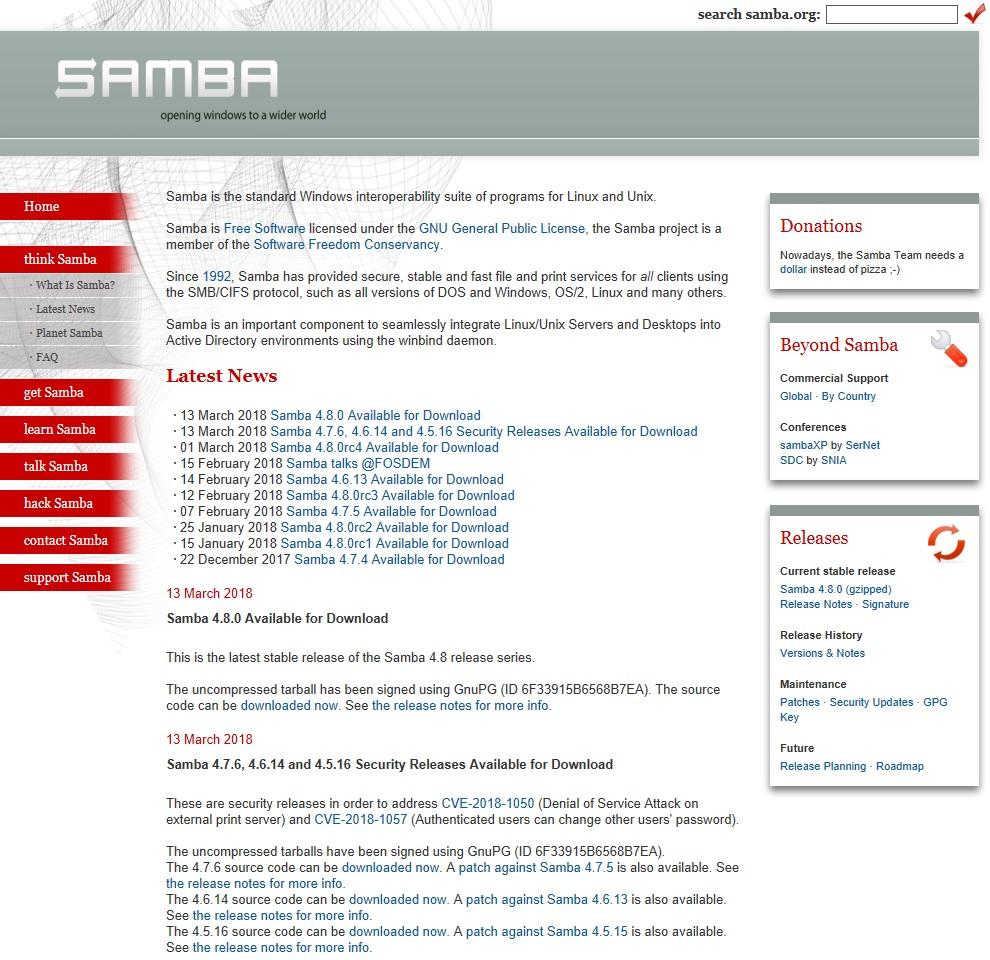 一般ユーザーが管理者パスワード変更できる恐れ、Samba更新版で対処 - ITmedia エンタープライズ