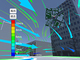 VRで目に見えないビル風を立体的に可視化——熊谷組、「風環境可視化技術」を開発