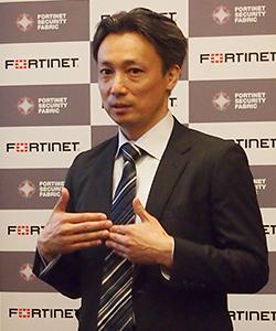フォーティネットジャパン 技術本部本部長 宮西一範氏