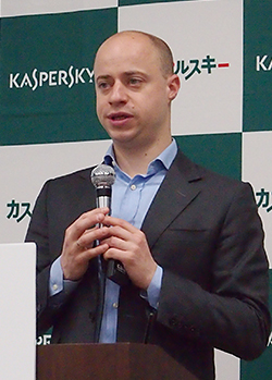 Kaspersky Lab Public Affaires担当バイスプレジデント アントン・シンガリョーフ氏