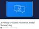 FacebookのザッカーバーグCEO「プライバシー重視のプラットフォームを構築する」