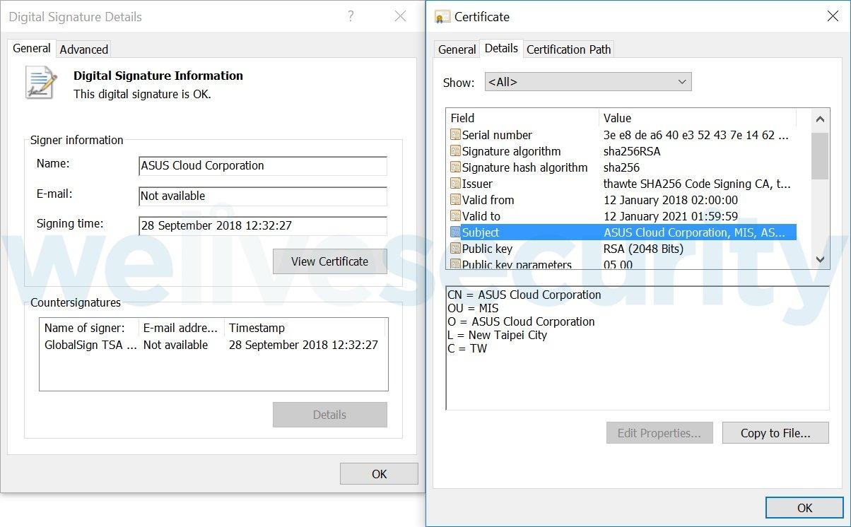 ASUSのクラウドサービス、マルウェア配信に悪用されていた