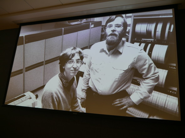 Microsoft設立当時のビル・ゲイツ氏とポール・アレン