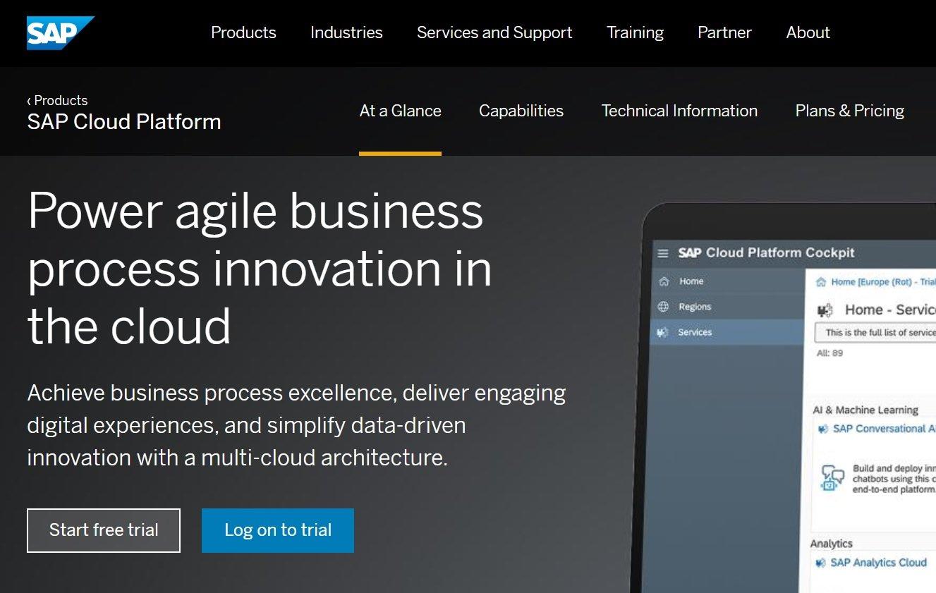 SAP、クラウド製品群に機械学習やRPA関連の新機能を拡充
