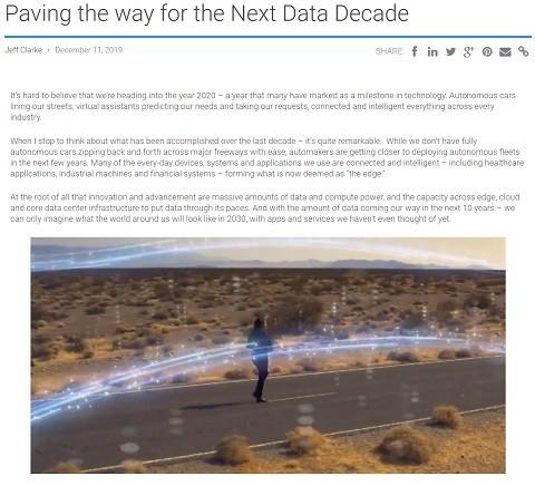 Next Data Decade