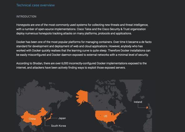 Cisco Talos Intelligence Group - Comprehensive Threat Intelligence: Xanthe - Docker aware miner