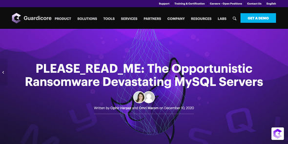 Ransomware Attacks on MySQL Databases: PLEASE_READ_ME Campaign|Guardicore Labs