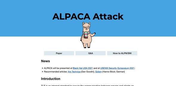ALPACA Attack