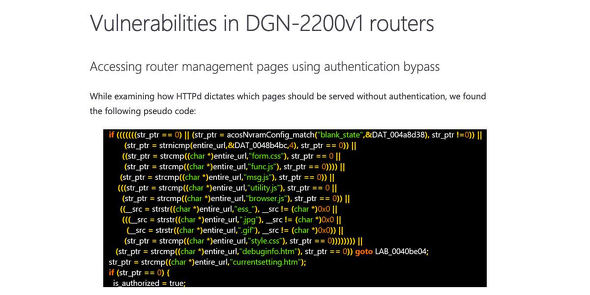 Microsoft finds new NETGEAR firmware vulnerabilities that could lead to identity theft and full system compromise | Microsoft Security Blog