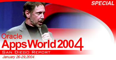 Oracle AppsWorld 2004 San Diego Report