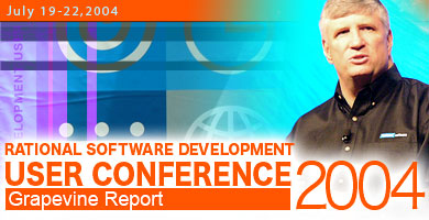 Rational Software Development User Conference 2004 Report