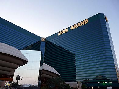 ボクシング界のスーパーイベントも開かれるMGMグランドホテル