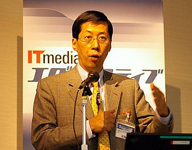 「現場力」をテーマに講演する遠藤功氏
