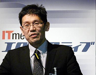 「ビジネス環境の変化を踏まえたものづくりが求められる」と語る脇坂順雄氏