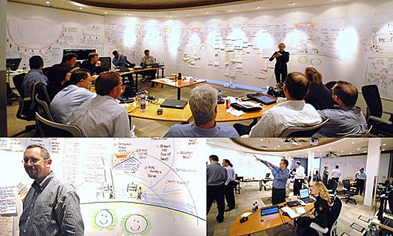 戦略やアイデアを可視化するVU。今年12月に米国で開催の自社イベントでは500名でVUを実施する予定という