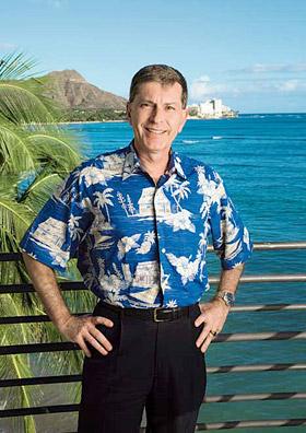 アウトリガーのCIO、アラン・ホワイト氏は、売り上げ管理システムの導入を進めている