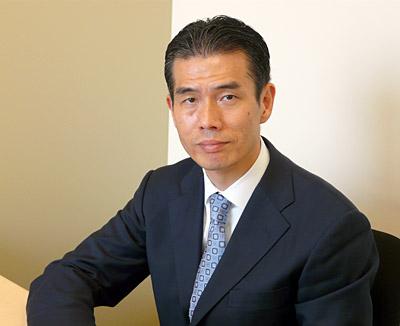 ジャパンカントリーマネジャーの早川浩平氏