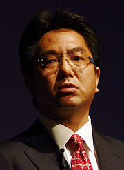 「新たな競争の時代に突入する」と話すガートナーの亦賀忠明氏