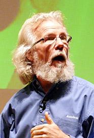 ホジンズ氏は「論理的思考や解析など人間が左脳を使って行う作業は、今やコンピュータを活用すればいい。人間は今後、右脳をトレーニングすべき」と話す