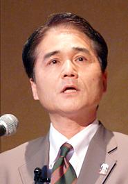 イオンの執行役グループIT責任者である梅本和典氏