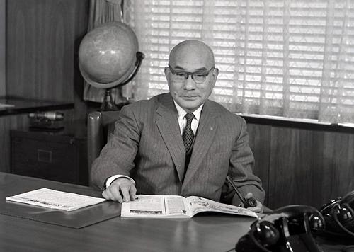 数々の改革によって日本経済を支えた土光敏夫氏(写真:株式会社IHI提供)