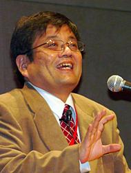 日本の経済状況を力説する森永卓郎氏