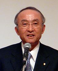 CIO百人委員会で委員長を務める、トヨタ自動車の渡辺捷昭社長