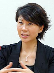 直近のビジネス動向を説明するGXS アジアパシフィック マーケティングディレクターのジェーン・チェン氏
