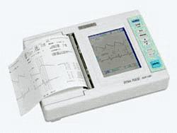 図1 加速度脈波計による血管年齢の測定