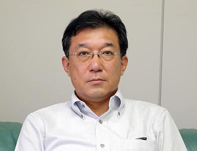 積水化学工業 コーポレート 情報システムグループ長の寺嶋一郎氏