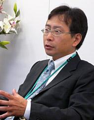 ローソンエンターメディアの日比靖浩社長