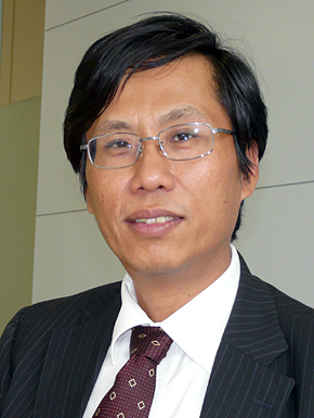 大宇宙信息創造の中山国慶董事長