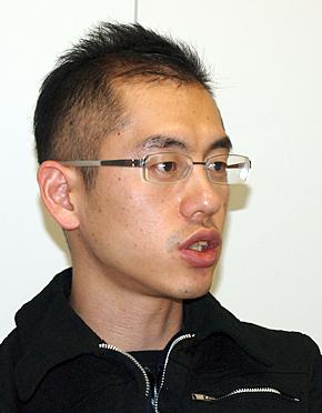 グローバルコミュニケーション部 部長 クリエイティブ・マネジメントディレクターの勝部健太郎氏