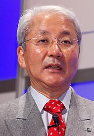 NTTデータの山下徹社長