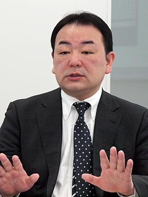 日本IBM IM&BA事業部 Business Analytics事業開発Cognos営業部FPM担当の内田辰己氏