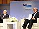 NTTデータ社長とNRI会長が対談:海外に後れを取る日本、官民一体となり産業を育てよ