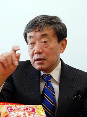 カルビーの松本晃代表取締役会長兼CEO