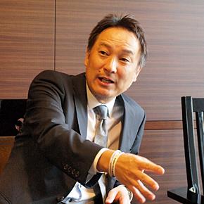 日本駐車場開発 取締役副社長の川村憲司氏