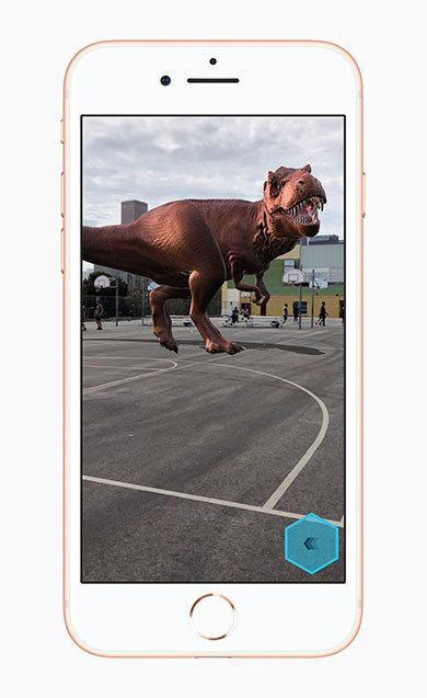 ARを使ったゲームも快適に動く「iPhone 8」