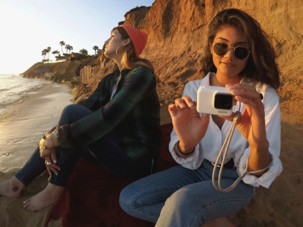 「GoPro」の撮影イメージ