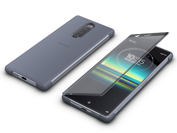 「Xperia 1 Style Cover Touch」