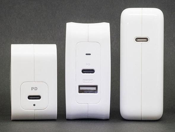 USB PD対応「ACアダプター」おすすめ3選 ノートパソコンも充電OK