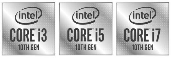 現行のモバイルノートには最新の第10世代「Core i5」シリーズが多く使われています。大型のゲーム・クリエイティブ向けノートパソコンでは1世代前ですが処理能力が高い「Core i7」シリーズが使われています