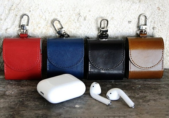 「HANSMARE ITALY LEATHER CASE for AirPods」