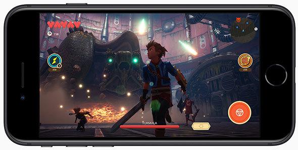 処理能力が向上した新型iPhone SEなら3Dゲームも快適に